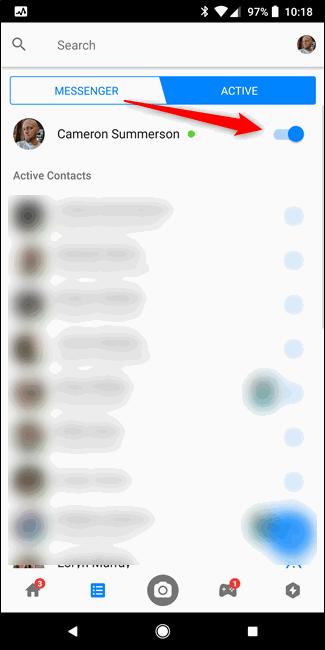 Cara Sembunyikan Status Aktif Facebook Messenger C