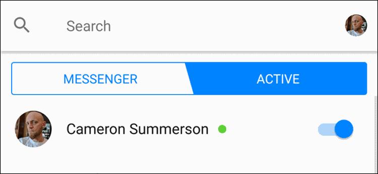Cara Sembunyikan Status Aktif Facebook Messenger
