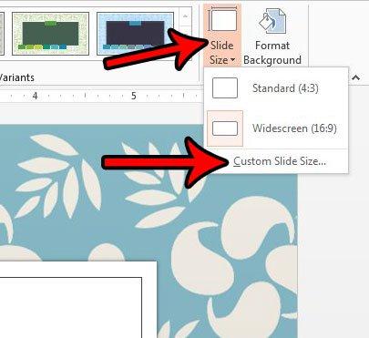 Cara Ubah Ukuran Slide Untuk Kertas Legal Di Powerpoint 2013 B