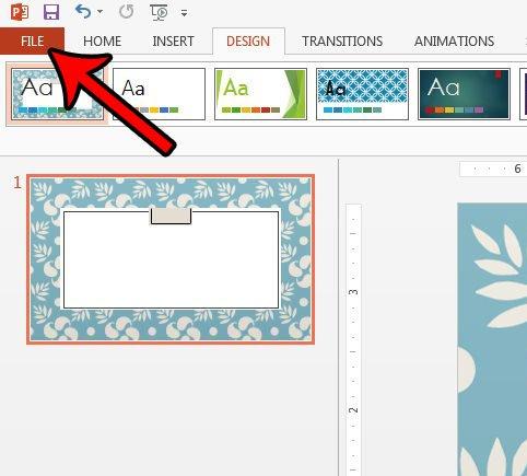 Cara Ubah Ukuran Slide Untuk Kertas Legal Di Powerpoint 2013 E