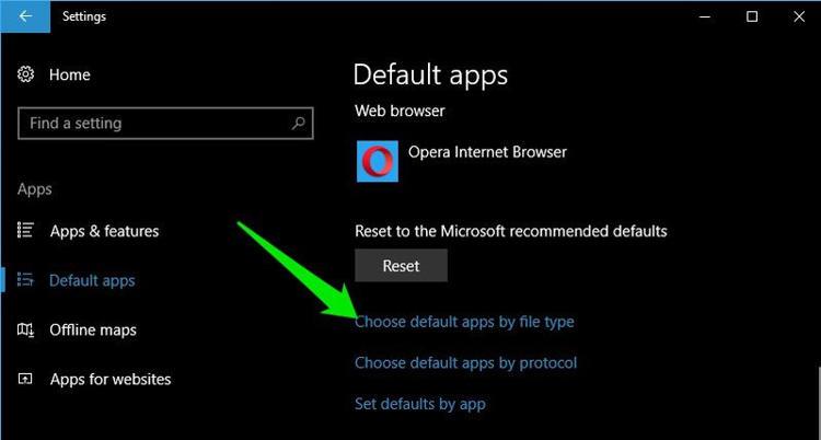 Atur Default Apps Untuk Aplikasi Baru Di Windows 10 E