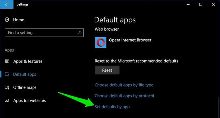 Atur Default Apps Untuk Aplikasi Baru Di Windows 10 I