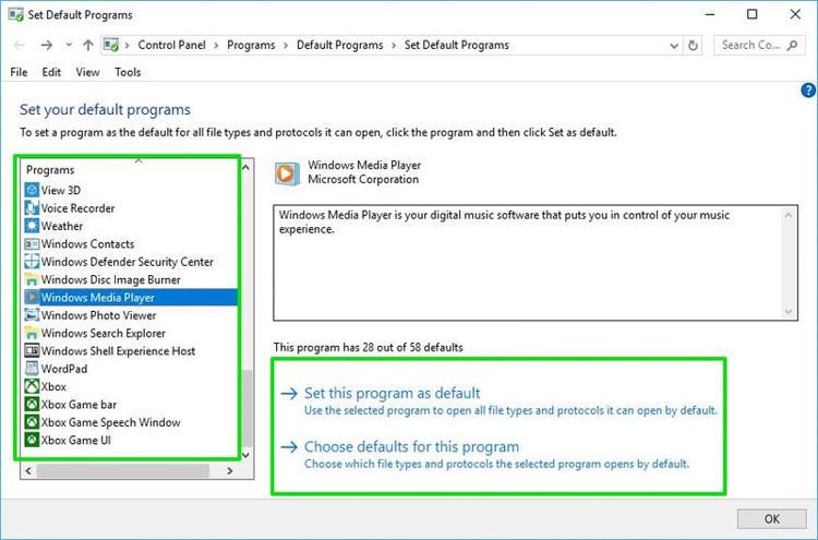Atur Default Apps Untuk Aplikasi Baru Di Windows 10 J