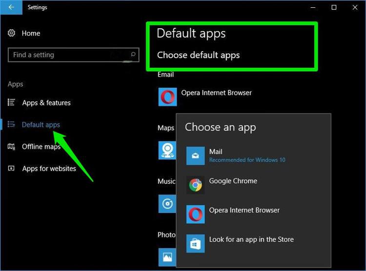 Atur Default Apps Untuk Aplikasi Baru Di Windows 10