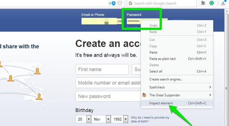 Cara Melihat Password Dibalik Simbol Asterisks Di Browser 1