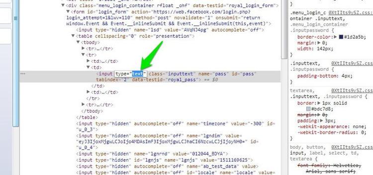 Cara Melihat Password Dibalik Simbol Asterisks Di Browser 3