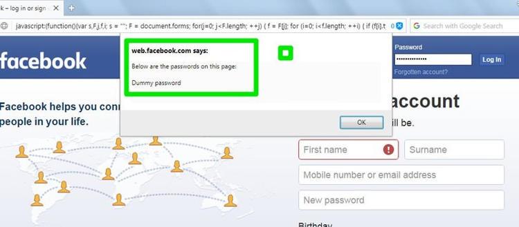 Cara Melihat Password Dibalik Simbol Asterisks Di Browser 6
