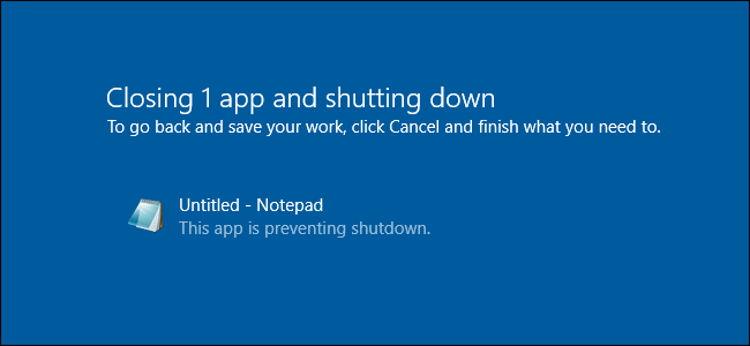 Atur Waktu Tunggu Windows Menutup Program Saat Shutdown