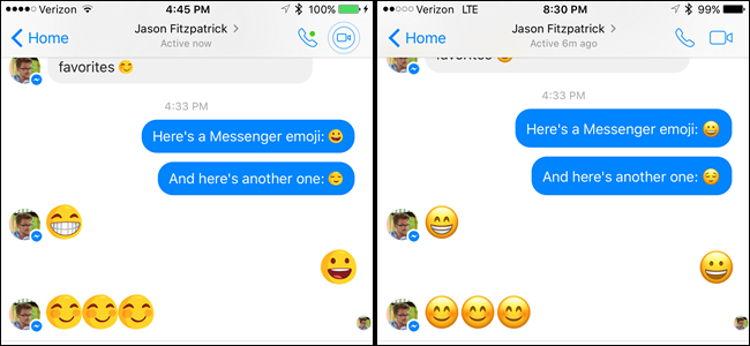 Cara Ganti Emoji Facebook Messenger Dengan Emoji Ios