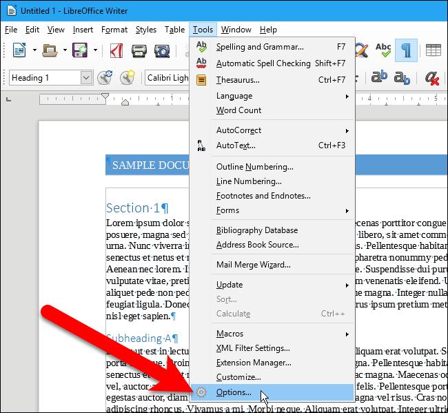 Cara Ganti Format File Default Di Libreoffice A