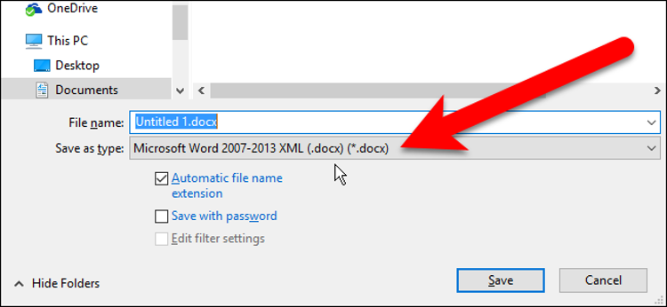 Cara Ganti Format File Default Di Libreoffice