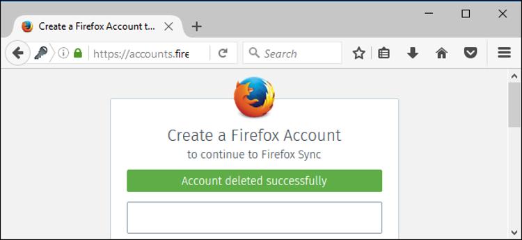 Cara Hapus Akun Firefox