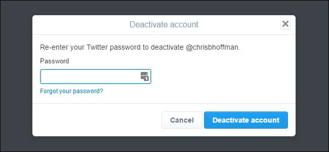 Cara Hapus Akun Twitter 4