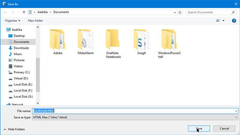 Cara Import Dan Export Bookmark Di Browser Microsoft Edge 8