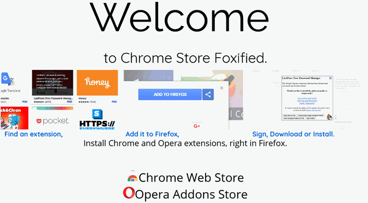 Cara Instal Ekstensi Google Chrome Di Mozilla Firefox 9