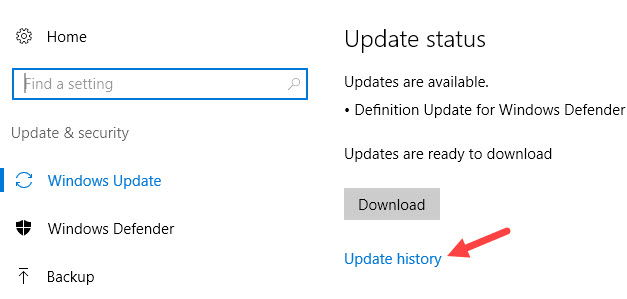 Cara Melihat Histori Update Di Windows 10 D