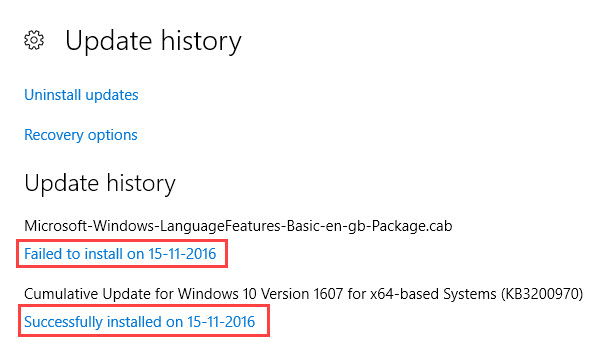 Cara Melihat Histori Update Di Windows 10 E