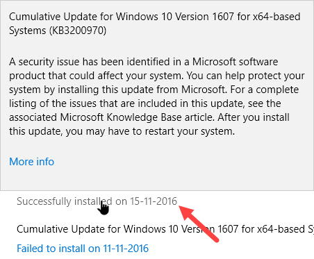Cara Melihat Histori Update Di Windows 10 F