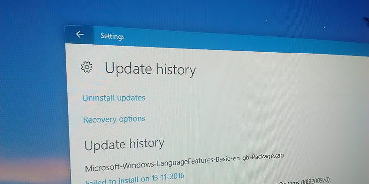 Cara Melihat Histori Update Di Windows 10