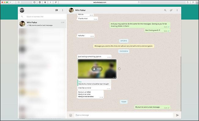 Cara Mengirim Dan Menerima Pesan Whatsapp Di Komputer 5