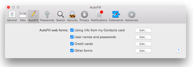 Cara Nonaktifkan Fitur Autofill Di Chrome, Firefox Dan Safari 2