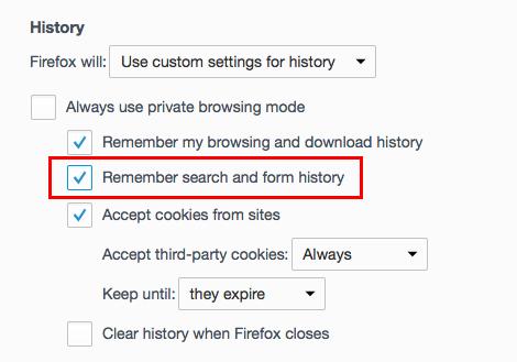 Cara Nonaktifkan Fitur Autofill Di Chrome, Firefox Dan Safari 3
