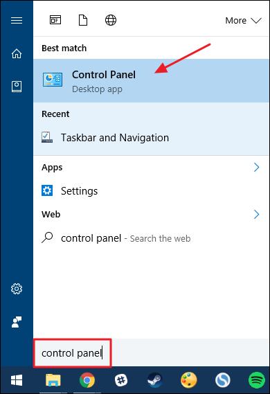 Cara Pin Control Panel Ke Taskbar Windows A