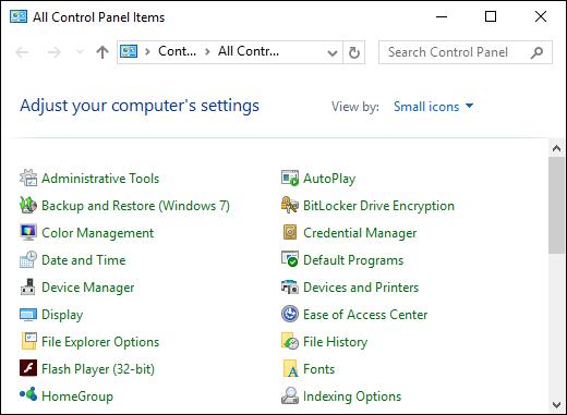 Cara Pin Control Panel Ke Taskbar Windows C