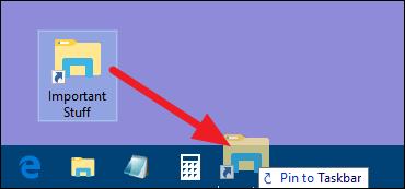 Cara Pin Folder Ke Taskbar Windows E