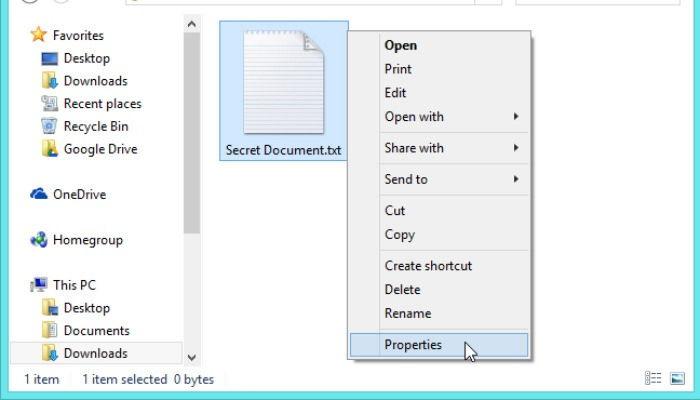 Cara Sembunyikan File Dan Folder Di Windows 10 A