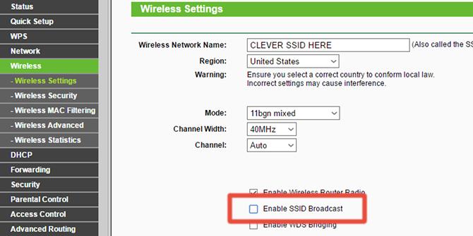Cara Sembunyikan Jaringan Wi Fi Lewat Pengaturan Router B