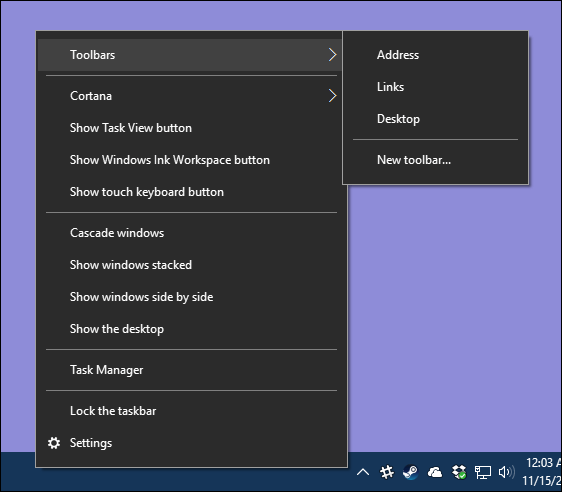 Panduan Kustomisasi Taskbar Di Windows 10 Z
