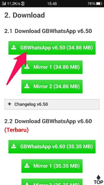 Cara Download File Di Dropbox 4