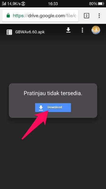 Cara Download File Di Google Drive 5