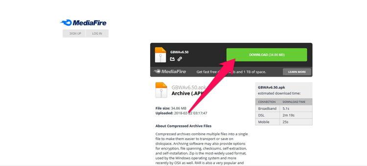 Cara Download File Di Mediafire 2
