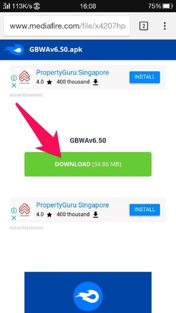 Cara Download File Di Mediafire 4