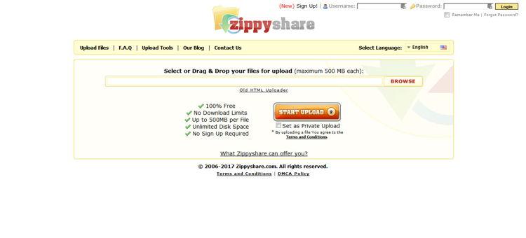 Cara Download File Di Zippyshare