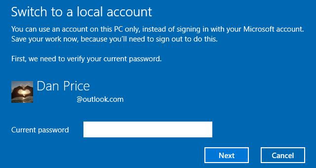 Cara Ganti Akun Microsoft Dengan Akun Lokal Di Windows 10 C