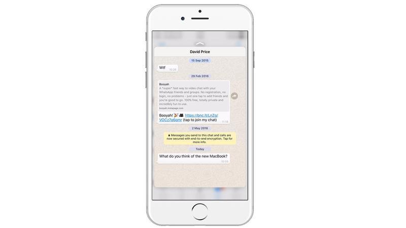 Cara Membaca Pesan Whatsapp Di Ios Tanpa Membukanya