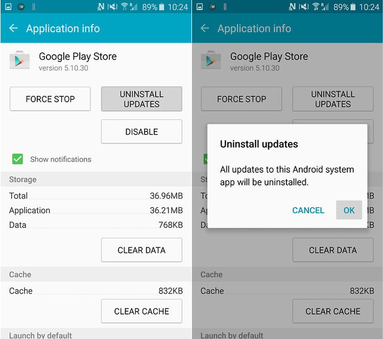 Cara Perbaiki Masalah Google Play Authentication Is Required 1