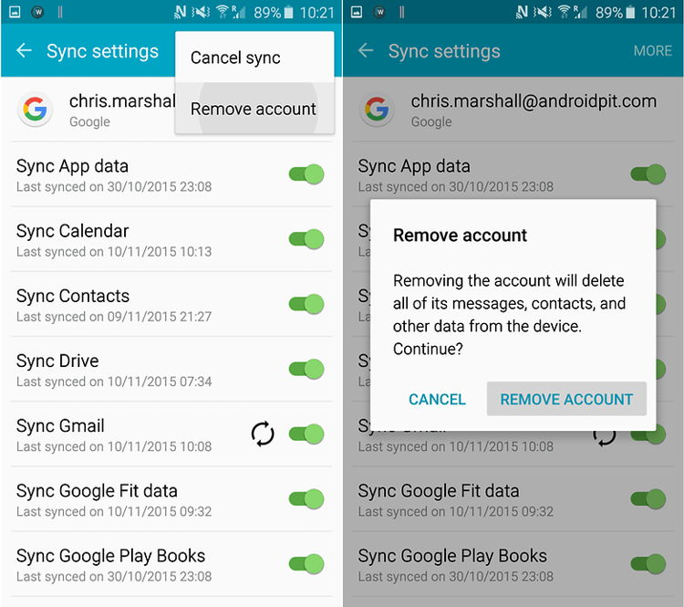 Cara Perbaiki Masalah Google Play Authentication Is Required 5