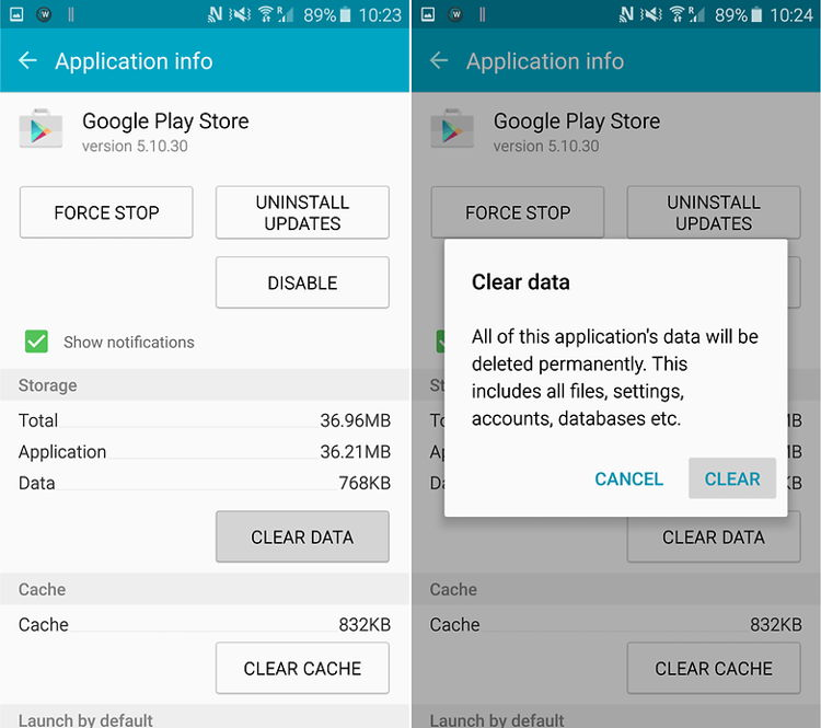 Cara Perbaiki Masalah Google Play Authentication Is Required 7