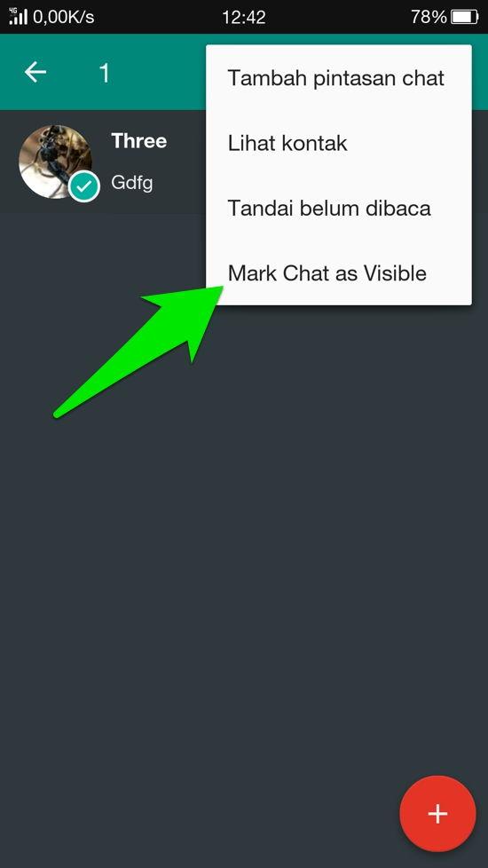 Cara Sembunyikan Kontan Dan Grup Whatsapp 8