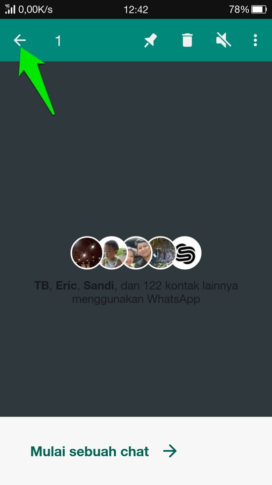 Cara Sembunyikan Kontan Dan Grup Whatsapp 9