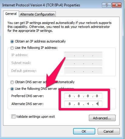 Cara Ubah Pengaturan Dns Di Windows F