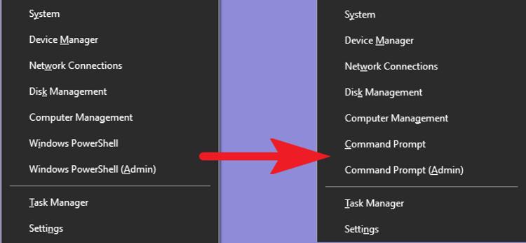 Mengembalikan Command Prompt Di Menu Power Users Windows 10
