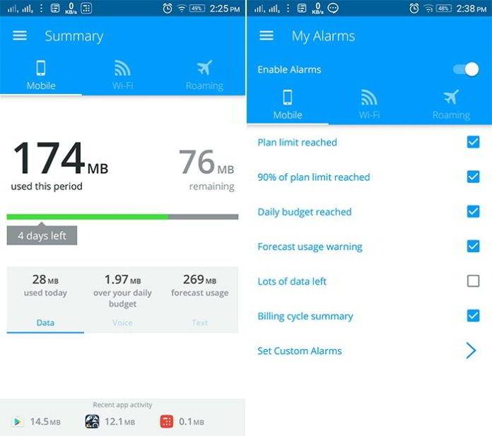 5 Aplikasi Terbaik Untuk Memantau Penggunaan Data Di Android 2