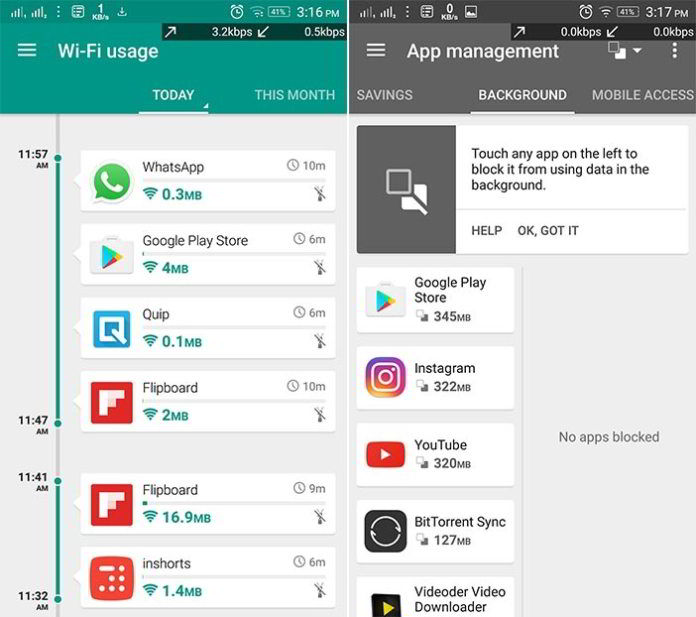 5 Aplikasi Terbaik Untuk Memantau Penggunaan Data Di Android 4