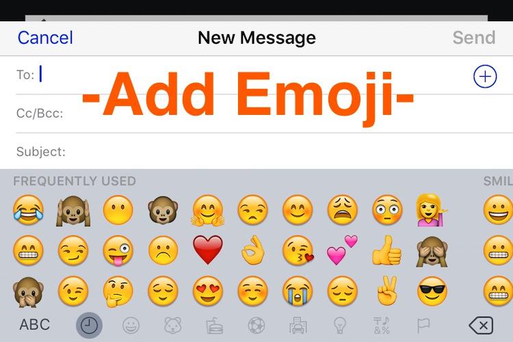 Add Emoji