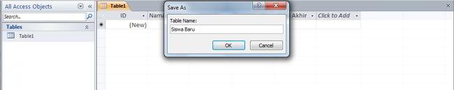 Cara Membuat Database Di Ms Access 2010 6